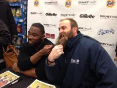Da Beard a hit with fans and media