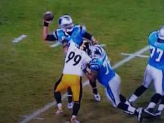 SNF: Steelers vs. Panthers.