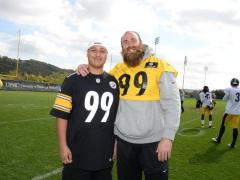 Steelers make a special wish come true