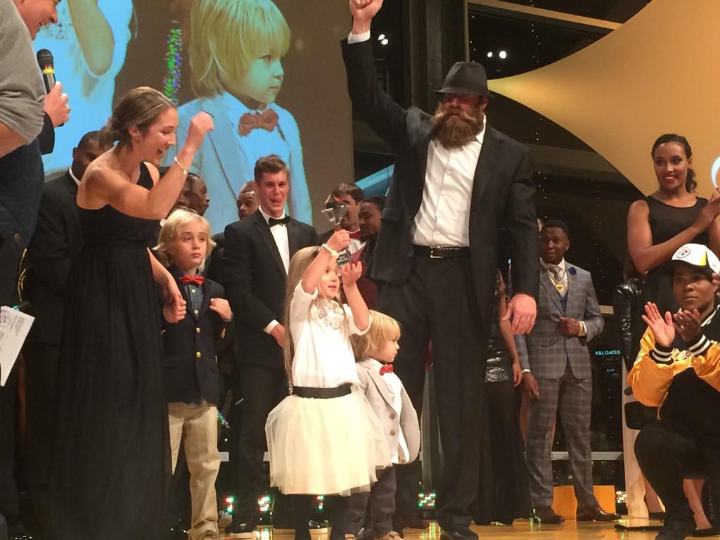 The Keisel Family Takes Over The Runway Brett Keisel