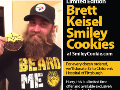 Brett Keisel Smiley Cookies