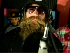 Da Beard rappin' for a great cause