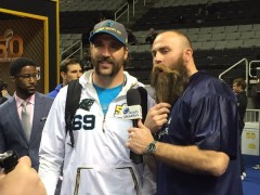 Da Beard takes over SB 50 Media Week