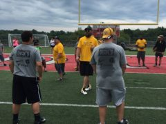 Da Beard makes a surprise appearance at Steelers Youth Camp