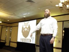 Former Steeler Keisel, 'Da Beard,' talks at benefit